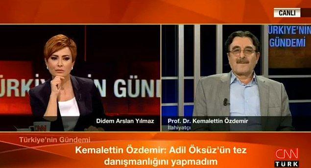 """""""Adil Öksüz'ü iyi tanıyorum, ismini 2012'de verdim"""""""