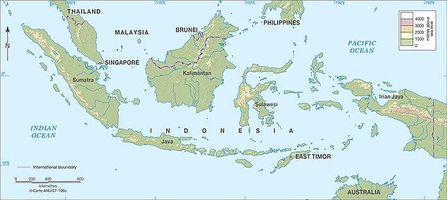 17. Endonezya, dünyanın yalnızca adalardan oluşan en büyük ülkesidir. Ülkede toplamda 17,508 ada bulunmaktadır ve bunların yaklaşık 6,000'inde insanlar yaşamaktadır.