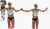Немецкие спортсменки, пробежавшие марафон, держась за руки, привели соотечественников в ярость