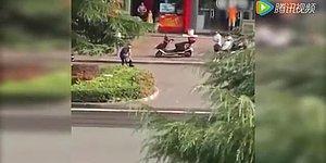 Кореец протащил женщину за волосы через всю дорогу