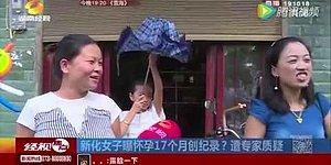 Беременность этой китаянки длится рекордные 17 месяцев