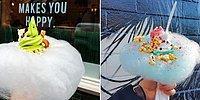 Мороженое с сахарной ватой - сладкий тренд уходящего лета