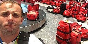 Не помогут даже бирки: сборная Великобритании застряла в аэропорту из-за путаницы с багажом
