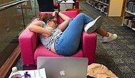Студентка уснула в библиотеке, и вот что из этого вышло