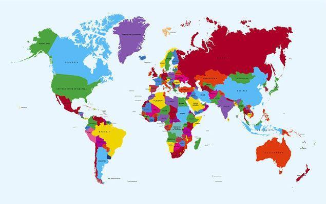 Кстати, что касается Земли. Знали ли вы, что абсолютно все географические карты искажены?