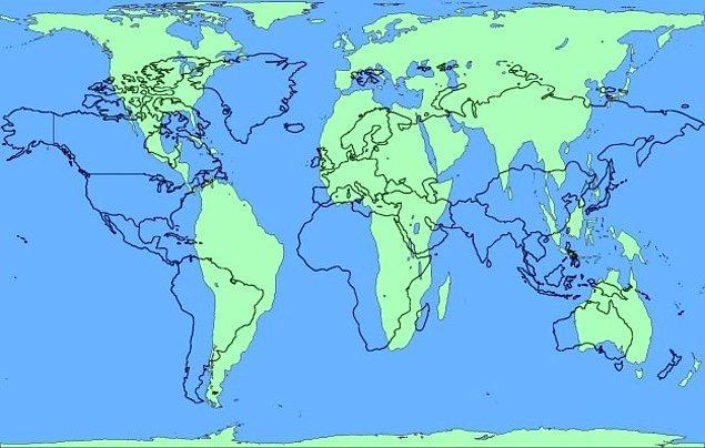 Однако проекция Галла-Петерса дает более или менее верное понимание соотношения размеров разных стран и континентов, но при этом искажает их углы и формы