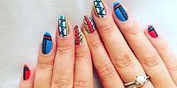 12 простых дизайнов ногтей к новому учебному году