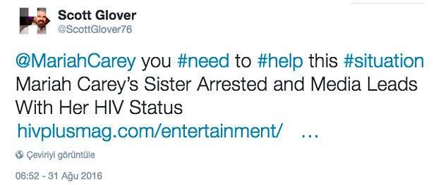 Mariah Carey, ona yardım etmen gerek!