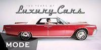Как менялись шикарные автомобили на протяжении последних 100 лет