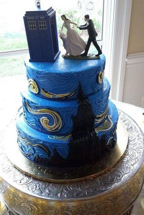 20 Nerdy Wedding Cakes That Will Put Your Cake To Shame