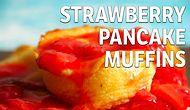 Strawberry Pancake Muffins Recipe