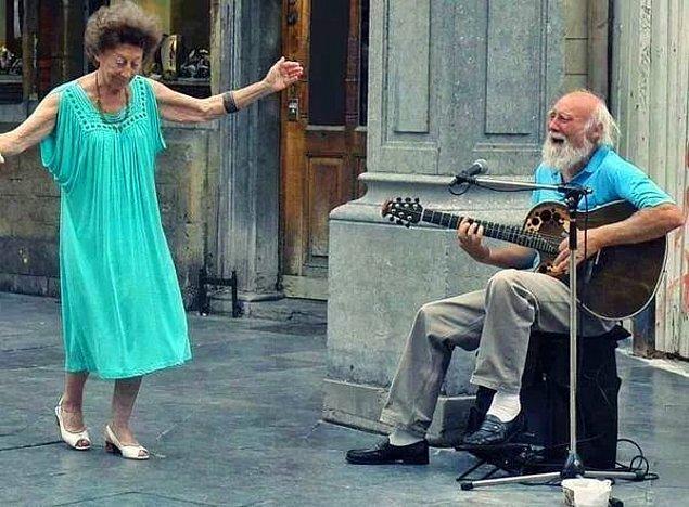 105 yaşında İstanbul'da!