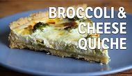 Broccoli & Cheese Quiche Recipe