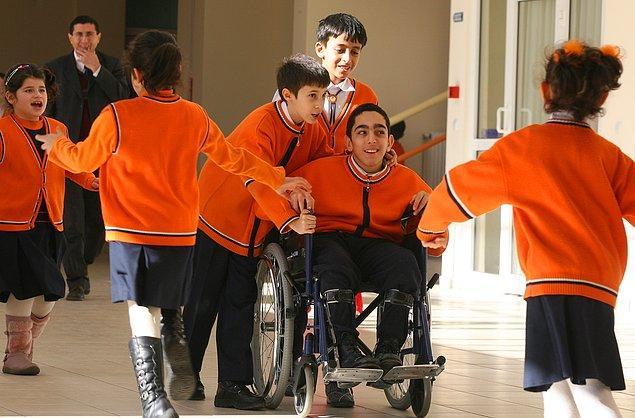 1)  Bugün 80 milyona yaklaşan Türkiye nüfusunun içinde yaklaşık 9 milyon vatandaşımız engelli