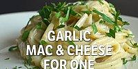 Garlic Mac & Cheese For One Recipe