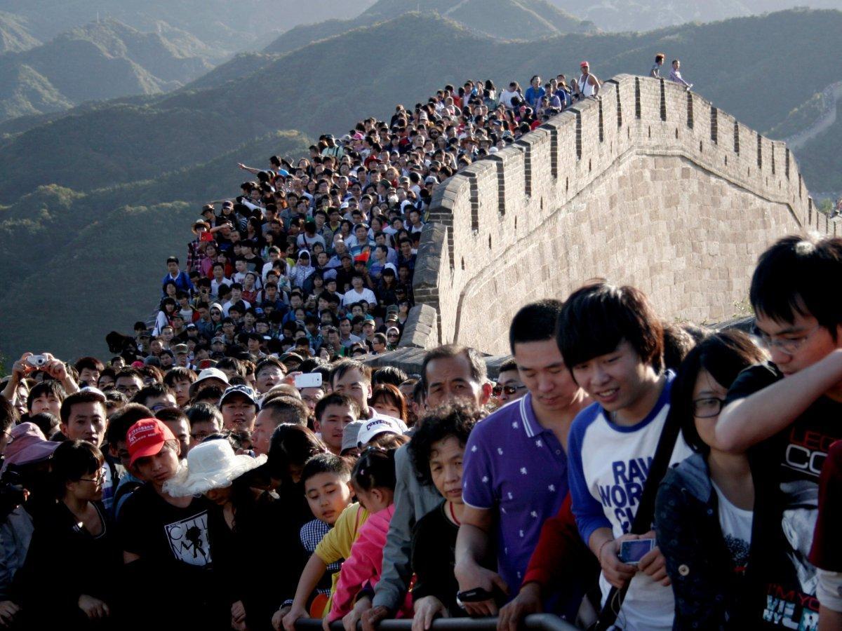Китай туристы картинки