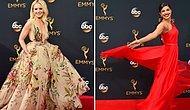 Все звездные наряды с красной ковровой дорожки Эмми 2016