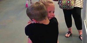 Cutest Hug Ever From 2 Kids Who Reunited After 17 Months