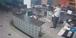 Hero Receptionist With Quick Reflexes Caught A Falling Baby In The Air!
