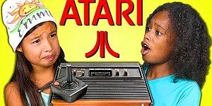 Clueless Millennium Kids React To Atari 2600