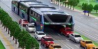 China's Giant 1200-Passenger Capacity Bus Completed Its Test Drive