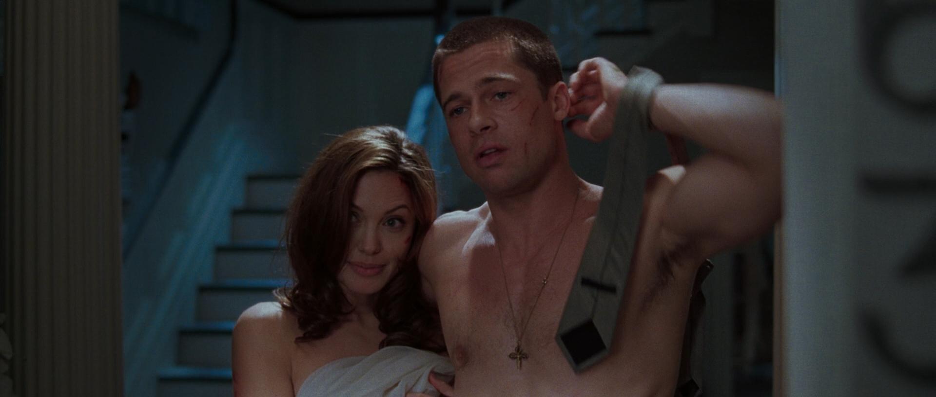 Анджелина джоли мистер и миссис смит секс