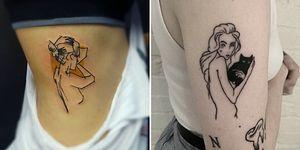 """17 элегантных татуировок в стиле """"ню"""""""