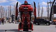 Турецкие инженеры сделали Трансформера из BMW