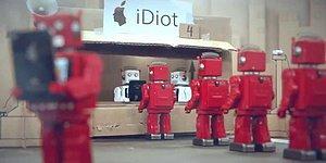 iDiot: такой пародии на любителей iPhone вы еще не видели!