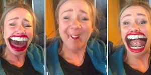 This Girl Is Having Too Much Fun On Face Warp
