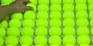 Hypnotic Video Showing How Tennis Balls Are Made