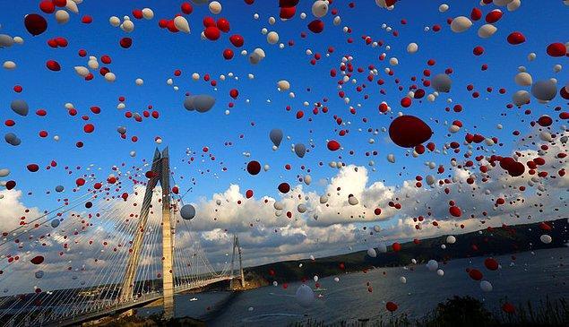 Yavuz Sultan Selim Köprüsü'nün açılmasıyla, Fatih Sultan Mehmet Köprüsü ağır vasıtalara kapanmıştı.