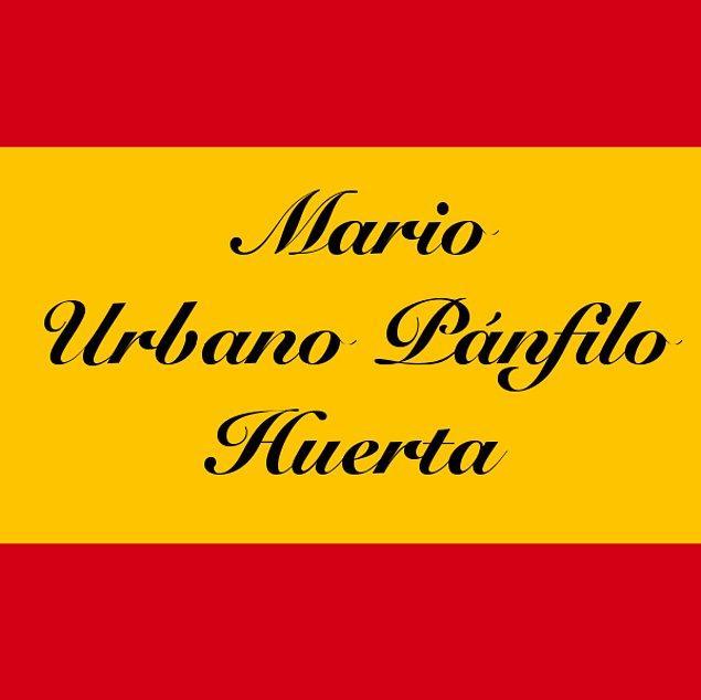 Mario Urbano Pánfilo Huerta!