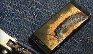 'Yenilenmiş' Galaxy Note7 Uçakta Alev Aldı