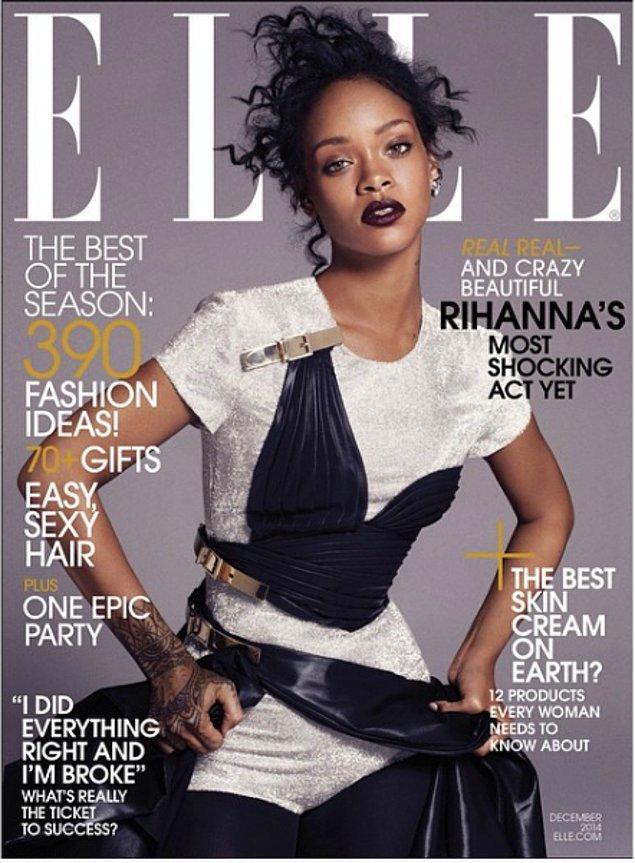 Рианна на обложке Elle 😍