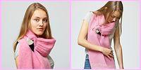 Теплый октябрьский тренд – «кусачие» шарфы, которые поднимут вам настроение