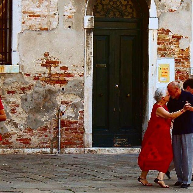 Танцуя на улице