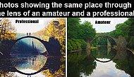 Photos of Same Places: Amateur VS Professional Photography
