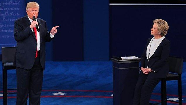 Trump: Başkan olursam Clinton'ı hapse attırırım