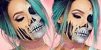 Нарисовать эффектный макияж а-ля скелет? Элементарно!