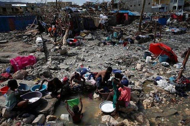 Haiti'de 900 kişi ölmüştü