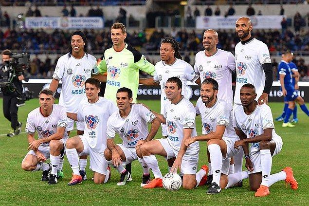 Ronaldinho, Edgar Davids, Veron diğer takımda