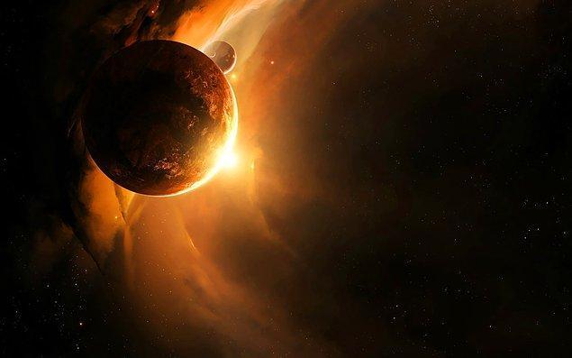 Küçük gezegenin Güneş'in etrafında dönmesi 1100 Dünya yılı sürüyor