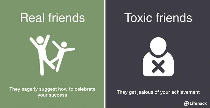 toxic friends vs real friends how to tell the difference