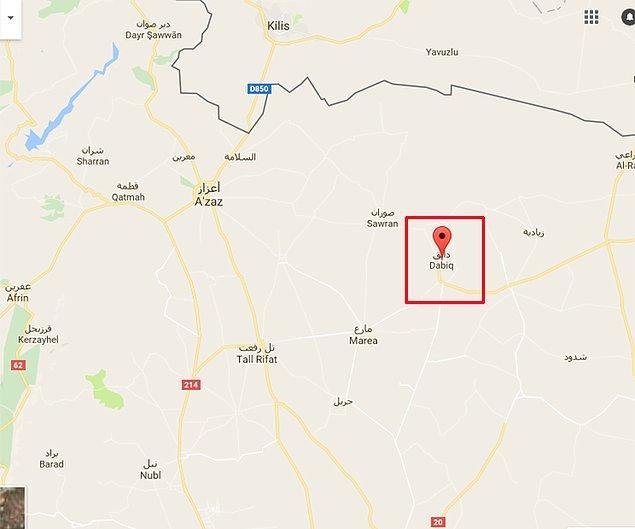 IŞİD dergisi 'Dabık'ta 'Sakın gelmeyin' demişti