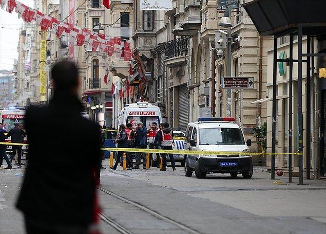 Dönmeye iten sebep: Taksim patlaması