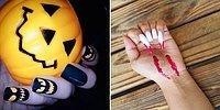 25 хэллоуинских дизайнов ногтей, которые отлично дополнят любой костюм