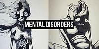 13 Powerful Drawings Showing The Dark Side Of Mental Disorders!