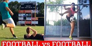 Football Vs. American Football: Let The Game Begin