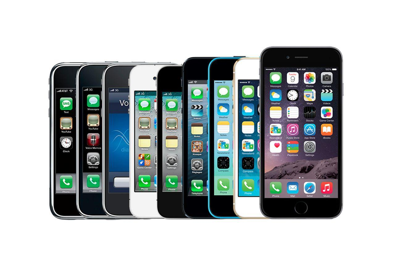 iphone 1 6. Apple IPhone Through The Ages: Just How Much Has It Changed? - Onedio.co Iphone 1 6 L